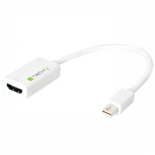 Techly Adattatore Mini DisplayPort Thunderbolt 1.2 - HDMI IADAP MDP-HDMIF12