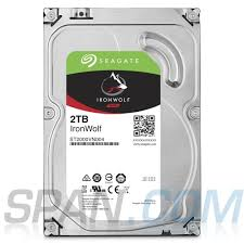 HDD Seagate IronWolf 2 TB ST2000VN004