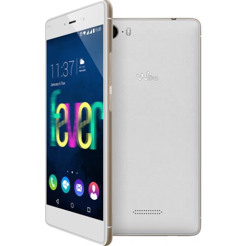 Smartphone Wiko Fever White Gold