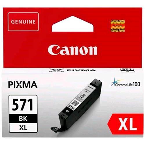 Cartuccia Canon CLI-571BK XL Nero