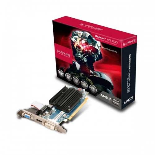 Scheda video Sapphire Radeon R5 230 2G D3 11233-02-20G