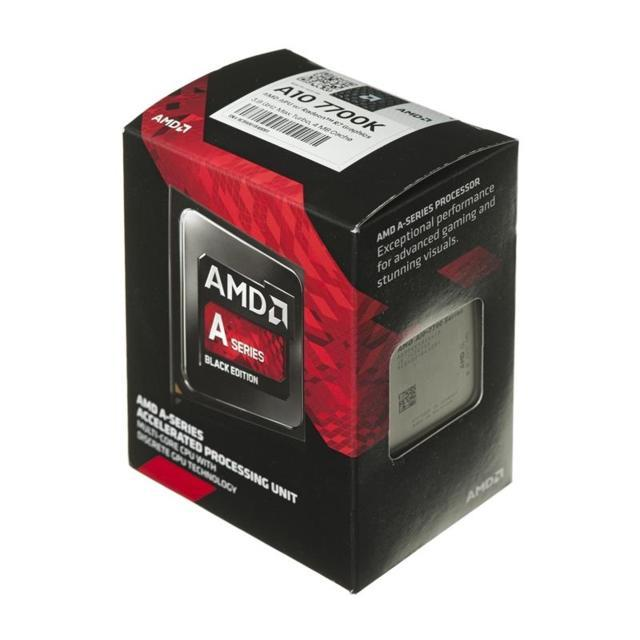 CPU Processore AMD Desktop A10 7700K Socket FM2+ Box