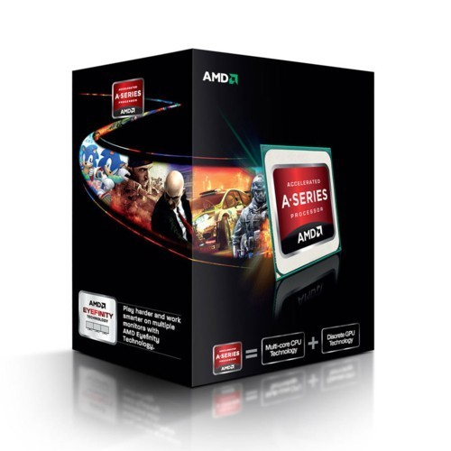 CPU Processore AMD Desktop A10 6800K Black Ed. Socket FM2 Box