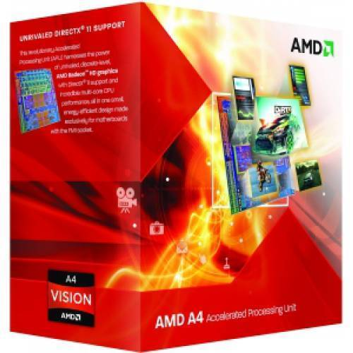 CPU Processore AMD Desktop A4 3400 Socket FM1 Box