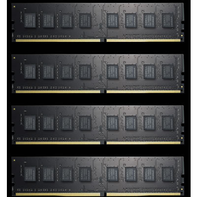 Memoria RAM DDR4 G.Skill Value F4-2400C15Q-32GNT