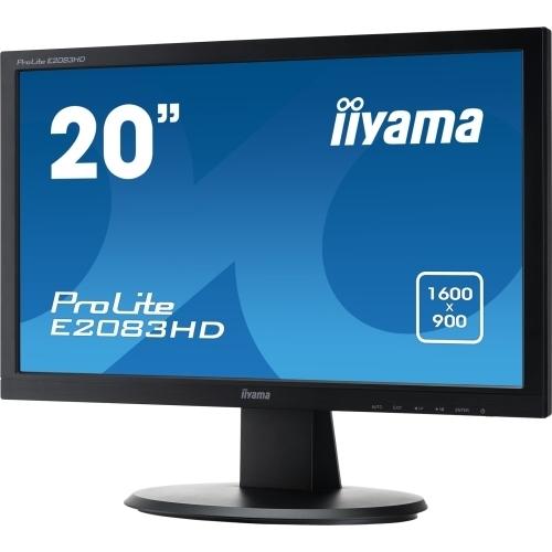 """Monitor LED 19"""" IIyama Prolite E2083HD-B1"""