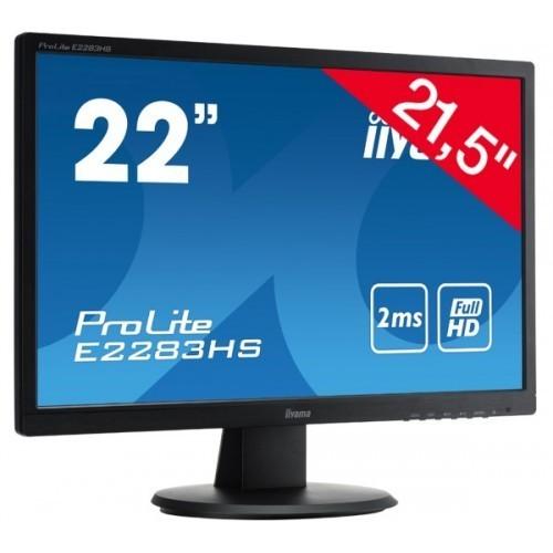 "Monitor LED 22"" iiyama Prolite E2283HS-B1"