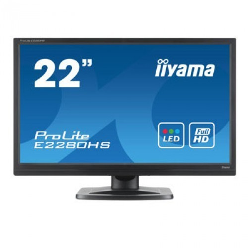 Monitor LED iiyama Prolite E2280HS-B1