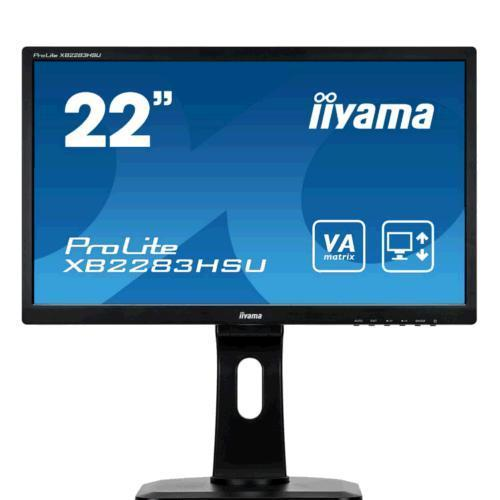 "Monitor LED 22"" iiyama Prolite X2283HSU-B1DP"