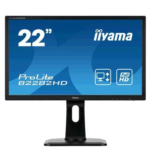 """Monitor LED 22"""" iiyama Prolite B2282HD-B1"""