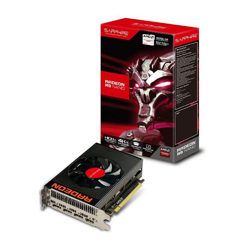Scheda video Sapphire R9 NANO 4G HBM 21249-00-40G