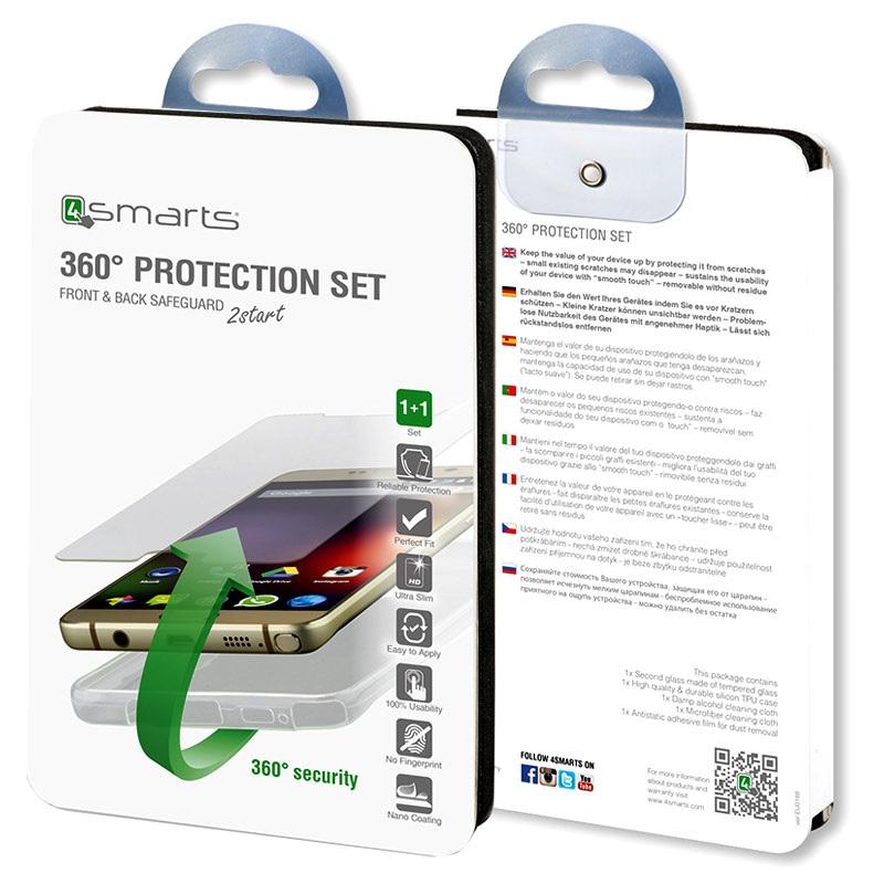 Protezione 360° per smartphone Huawei P8 lite
