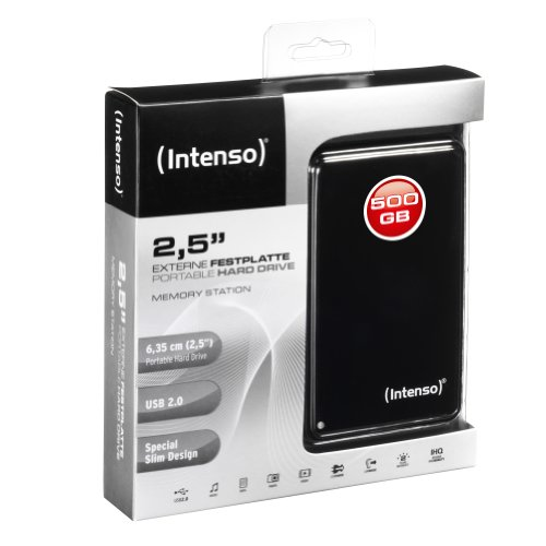 Hard Disk Esterno Intenso Memory Station 500GB 6002530