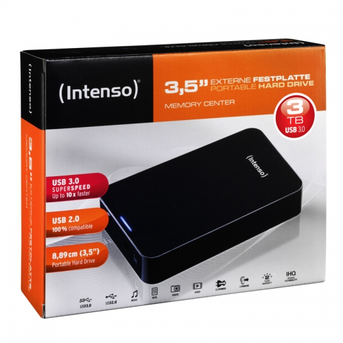 Hard Disk Esterno Intenso Memory Center 3TB 6031511