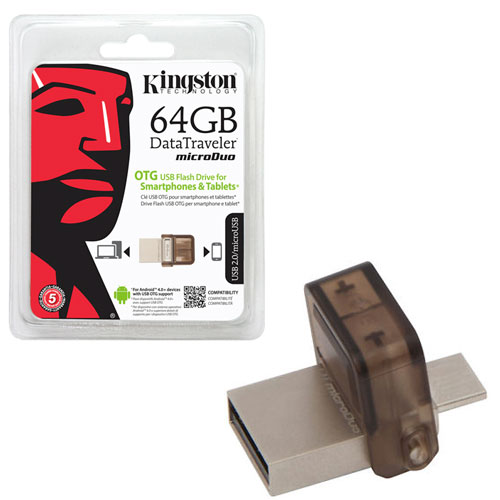 Pendrive Kingston DT-Micro Duo OTG 64GB USB2.0