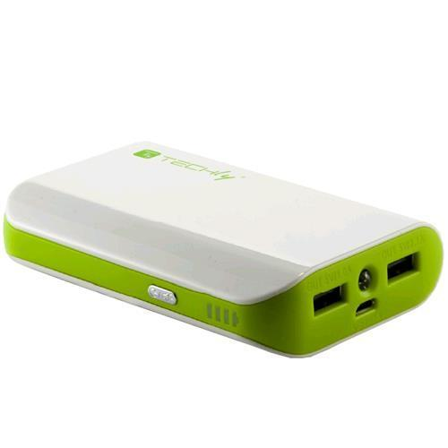 Power Bank Techly 6000mAh Bianco