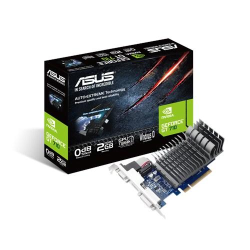 Scheda video ASUS 710-2-SL GF GT 710 2GB DDR3 90YV0940-M0NA00