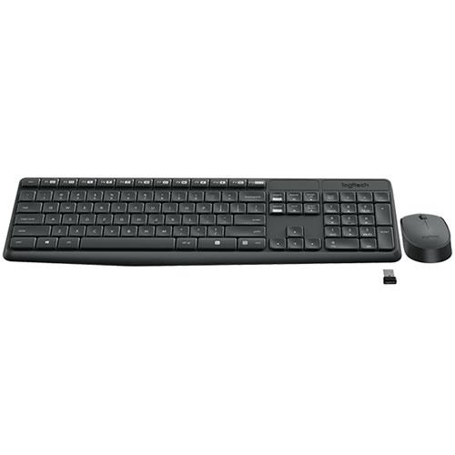Mouse e Tastiera Wireless Logitech MK235 920-007913