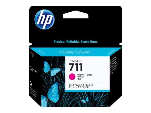 Cartuccia Ink HP 711 3X Magenta CZ135A