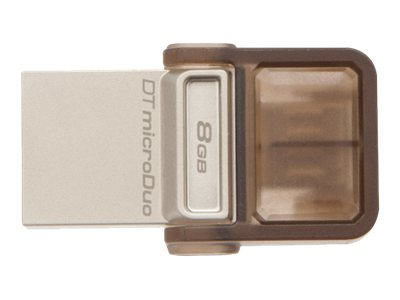 KINGSTON 8GB DT MicroDuo  micro USB OTG DTDUO/8GB