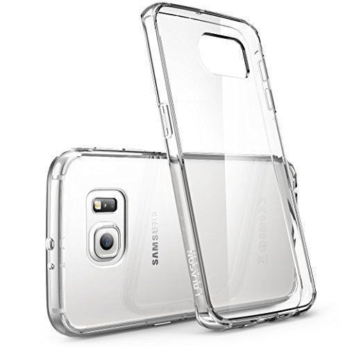 Clear Cover Samsung Galaxy S7 Edge Gold