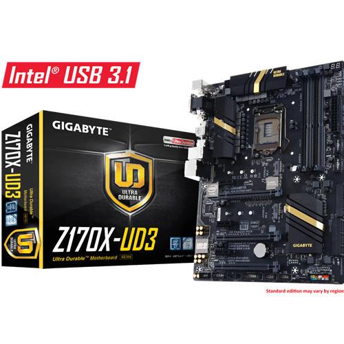 Scheda Madre Gigabyte A-Z170X-UD3