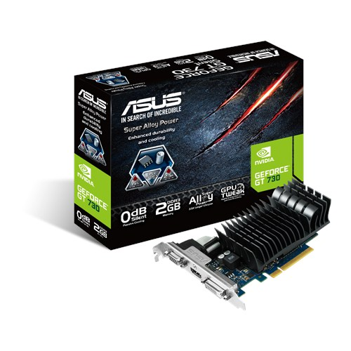 Scheda video VGA Asus GT730-SL-2GD3-BRK GeForce GT 730 2GB