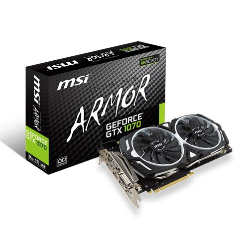 Scheda Video MSI GTX1070 ARMOR 8G OC