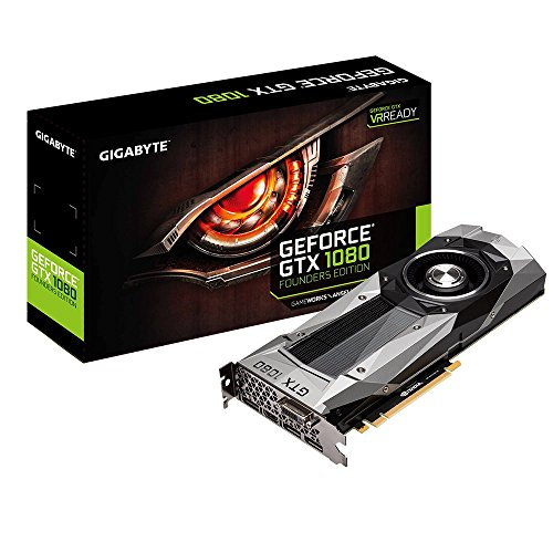 Scheda Video Gigabyte GeForce GTX 1080 Founders Edition GV-N1080D5X-8GD-B