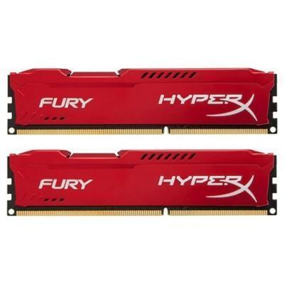 RAM DDR3 Kingston HyperX Fury Red HX316C10FRK2/16