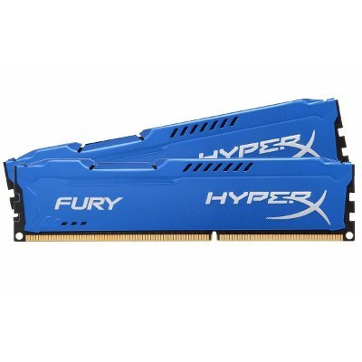 RAM DDR3 Kingston HyperX Fury Blue HX318C10FK2/16