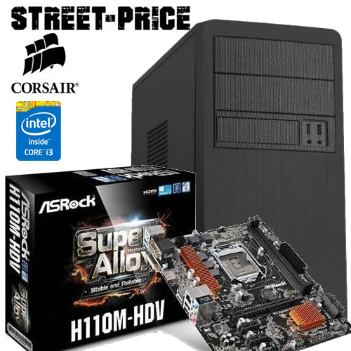 Computer Assemblato Per Uso Domestico Casa Work Intel