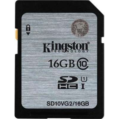 Flash Memory Card Kingston SD10VG2/16GB