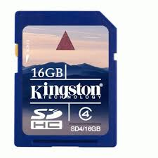 Flash Memory Card Kingston SD4/16GB