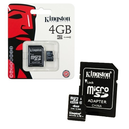 Flash Memory Card Kingston SDC4/4GB