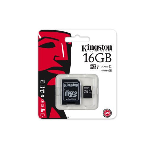 Flash Memory Card Kingston SDC4/16GB