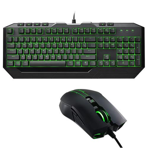 Bundle CM Storm Gaming Devastator II Green
