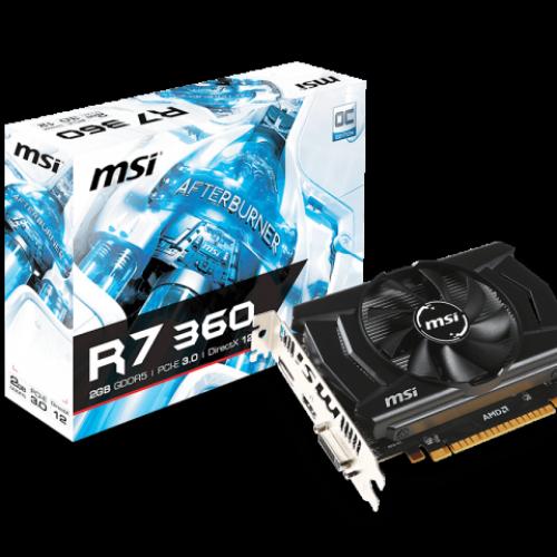 MSI AMD Radeon R7 360 OC V809-1863R
