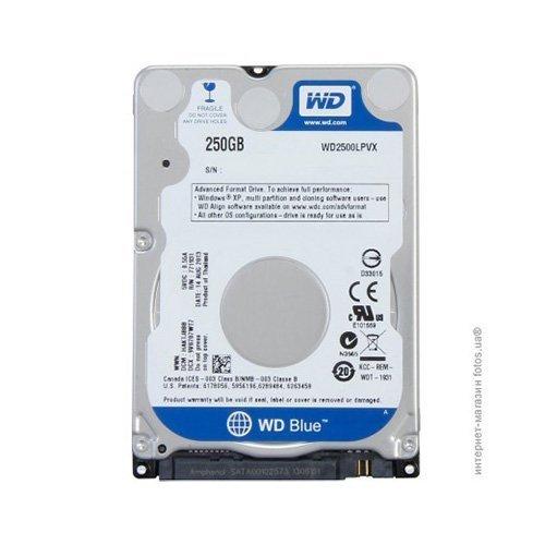 "Hard Disk 2.5"" WD Blue 250GB WD2500LPVX"