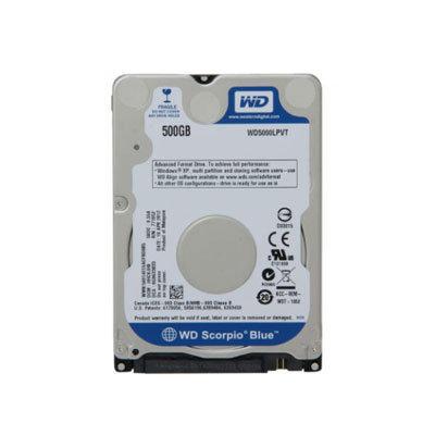 "Hard Disk 2.5"" WD Scorpio Blue 500GB WD5000LPVX"