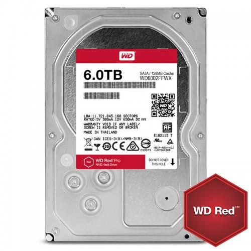 Hard Disk Western Digital Red Pro 6TB WD6002FFWX