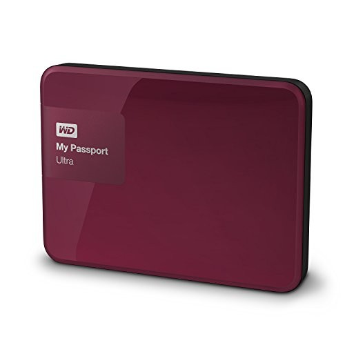 Hard Disk Esterno WD My Passport Ultra 2TB USB3.0 Berry