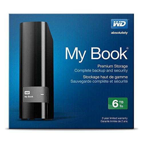 Hard Disk Esterno Western Digital My Book 6TB