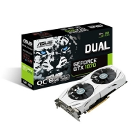 Scheda video ASUS Dual GeForce GTX 1070 DUAL-GTX1070-O8G