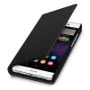Kwmobile Cover Flip Case per Huawei P8 Lite Nero