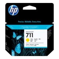 Cartuccia Ink HP 711 3X Giallo CZ136A