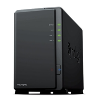 NAS Synology DS218PLAY 2 Bay Nero