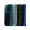 Clear View Cover Samsung Galaxy S7 Edge Nero