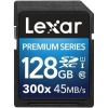 Flash Memory Card Lexar Premium Series 300x 128GB