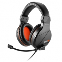 Cuffie da gaming RUSH ER3 BLACK